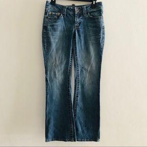 Anthropologie Level 99 boot cut jeans